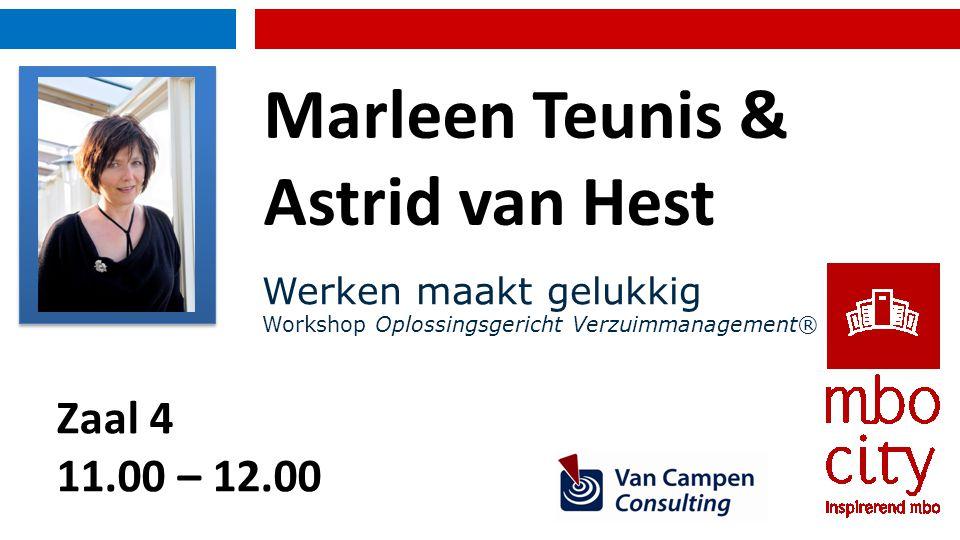 Marleen Teunis & Astrid van Hest