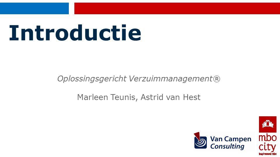 Introductie Oplossingsgericht Verzuimmanagement®