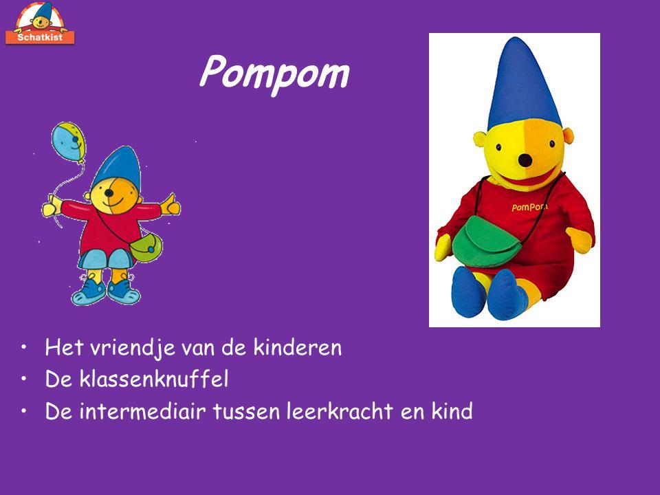 Pompom Het vriendje van de kinderen De klassenknuffel