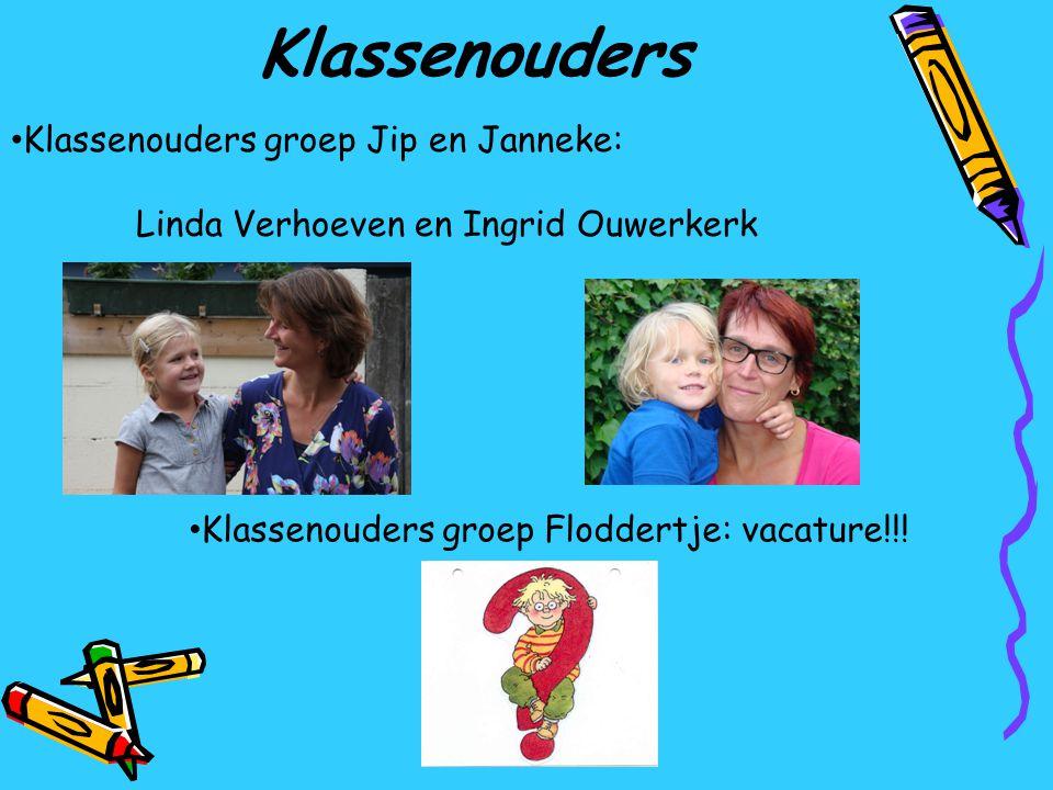 Klassenouders Klassenouders groep Jip en Janneke: