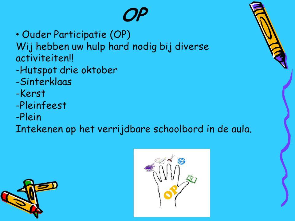 OP Ouder Participatie (OP)