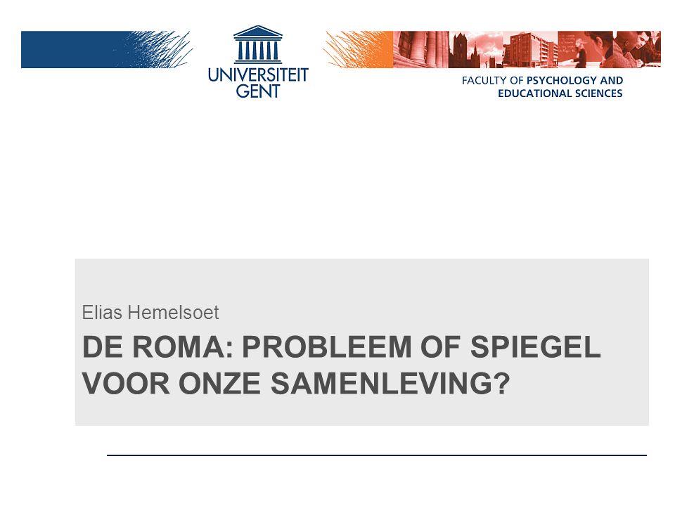 De Roma: Probleem of Spiegel voor onze samenleving