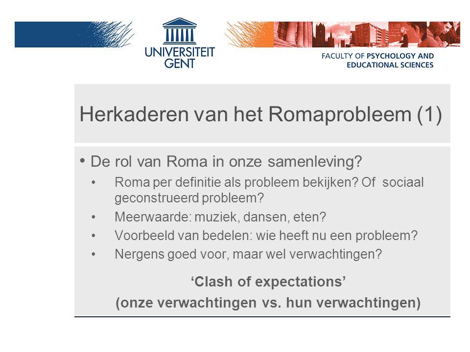 Herkaderen van het Romaprobleem (1)