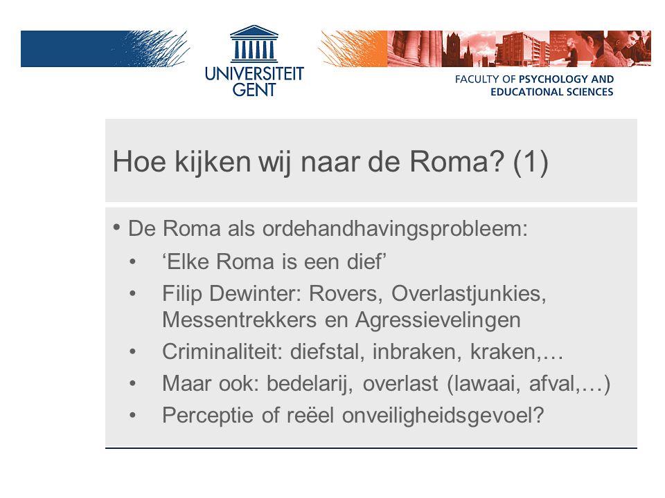 Hoe kijken wij naar de Roma (1)