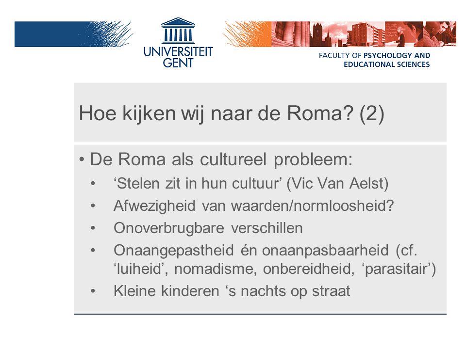 Hoe kijken wij naar de Roma (2)