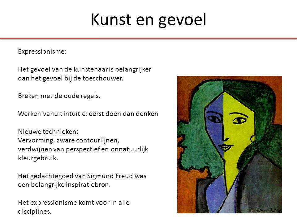 Kunst en gevoel Expressionisme: