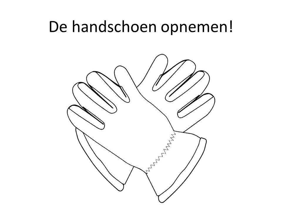 De handschoen opnemen!