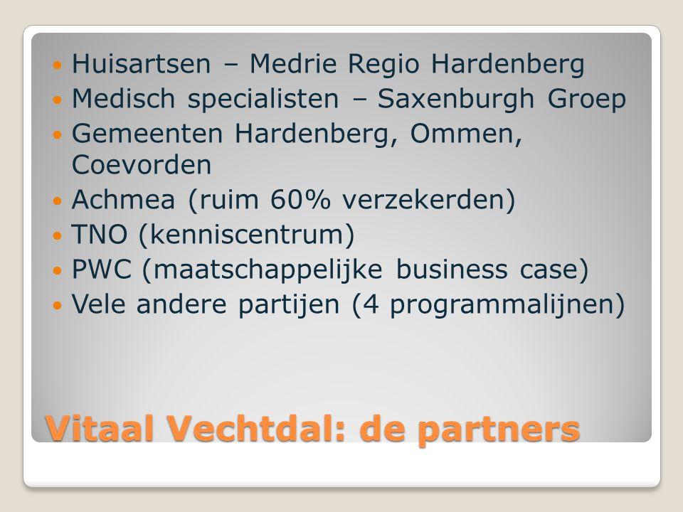 Vitaal Vechtdal: de partners