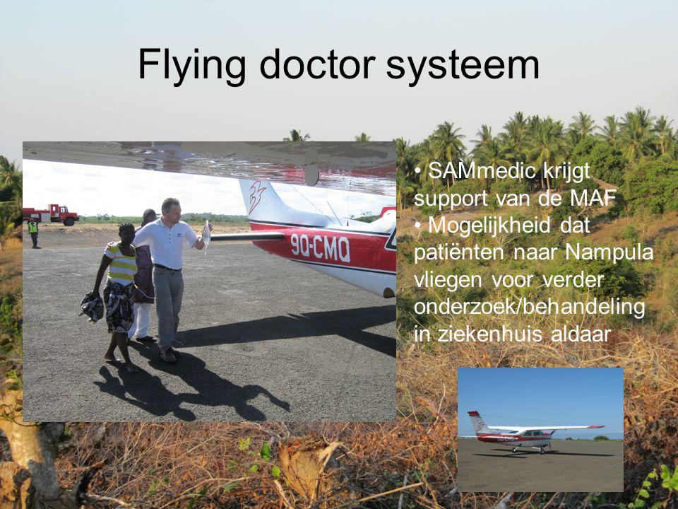 Flying doctor systeem SAMmedic krijgt support van de MAF