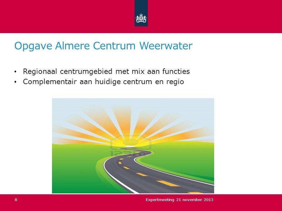 Opgave Almere Centrum Weerwater