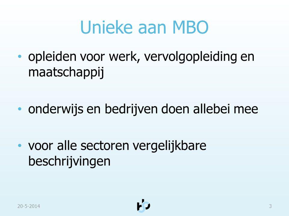 Unieke aan MBO opleiden voor werk, vervolgopleiding en maatschappij