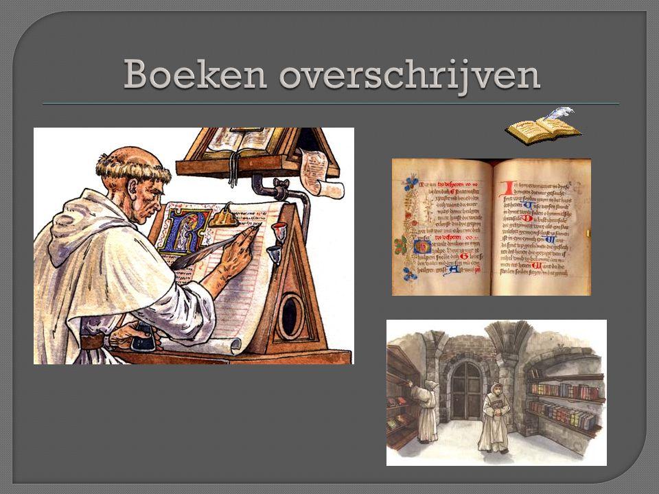 Boeken overschrijven