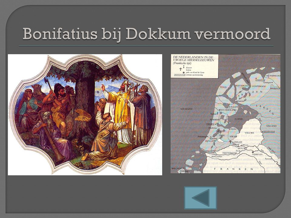 Bonifatius bij Dokkum vermoord