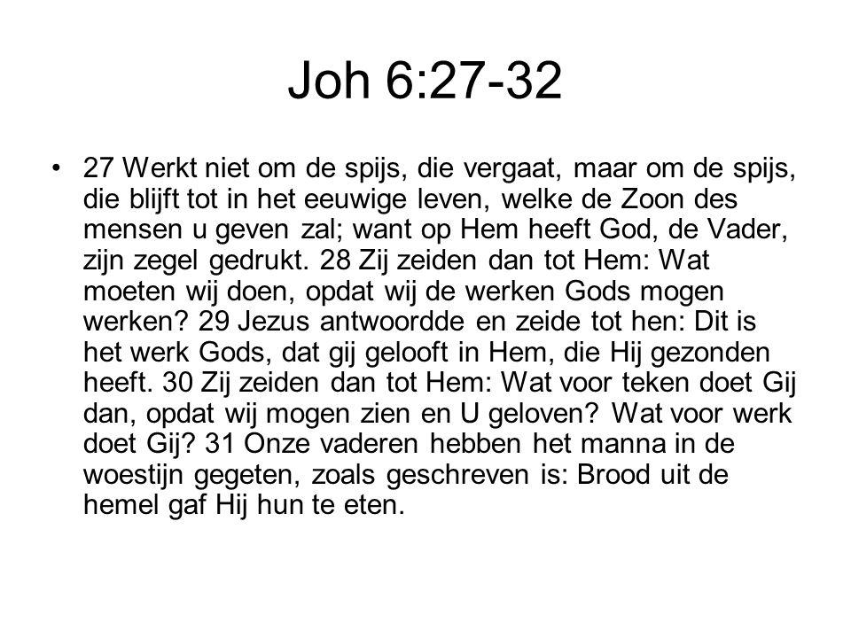 Joh 6:27-32