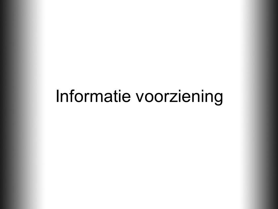 Informatie voorziening
