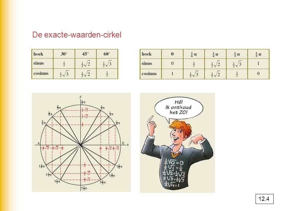 De exacte-waarden-cirkel