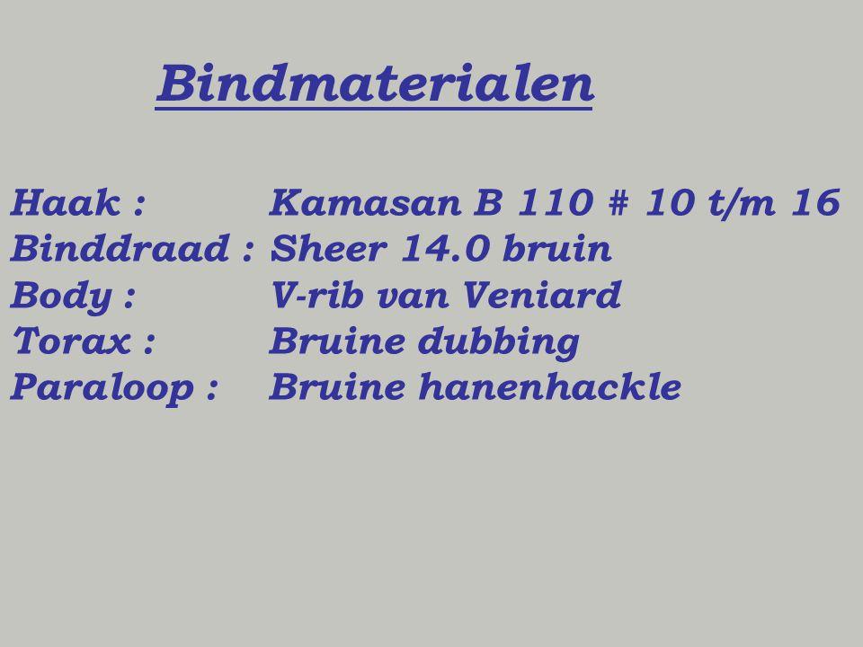 Bindmaterialen Haak : Kamasan B 110 # 10 t/m 16