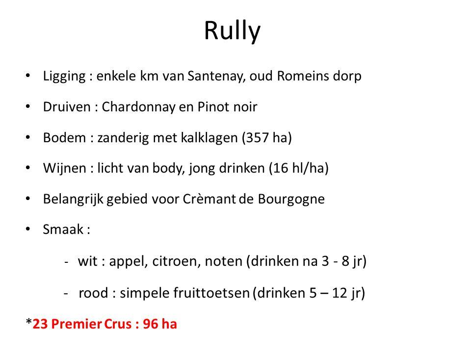 Rully - rood : simpele fruittoetsen (drinken 5 – 12 jr)