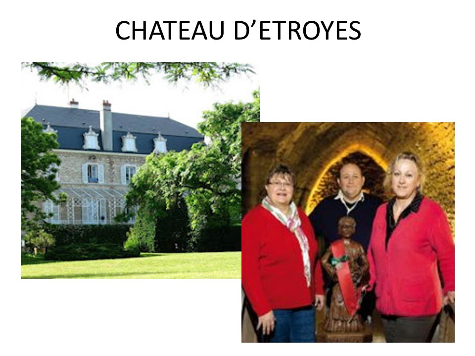 CHATEAU D'ETROYES