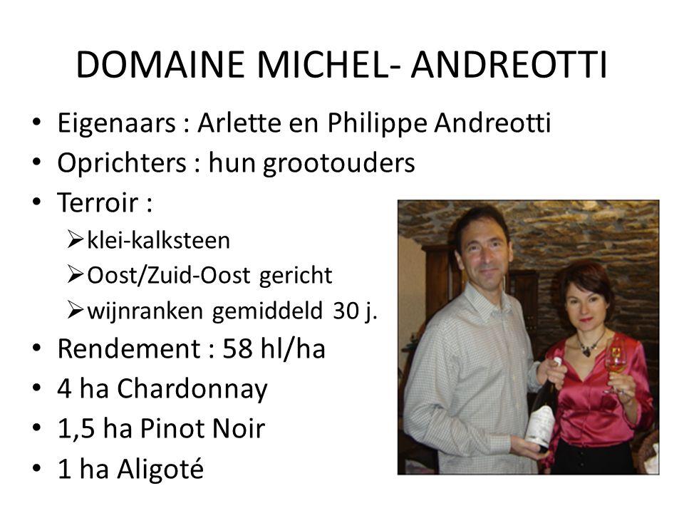 DOMAINE MICHEL- ANDREOTTI