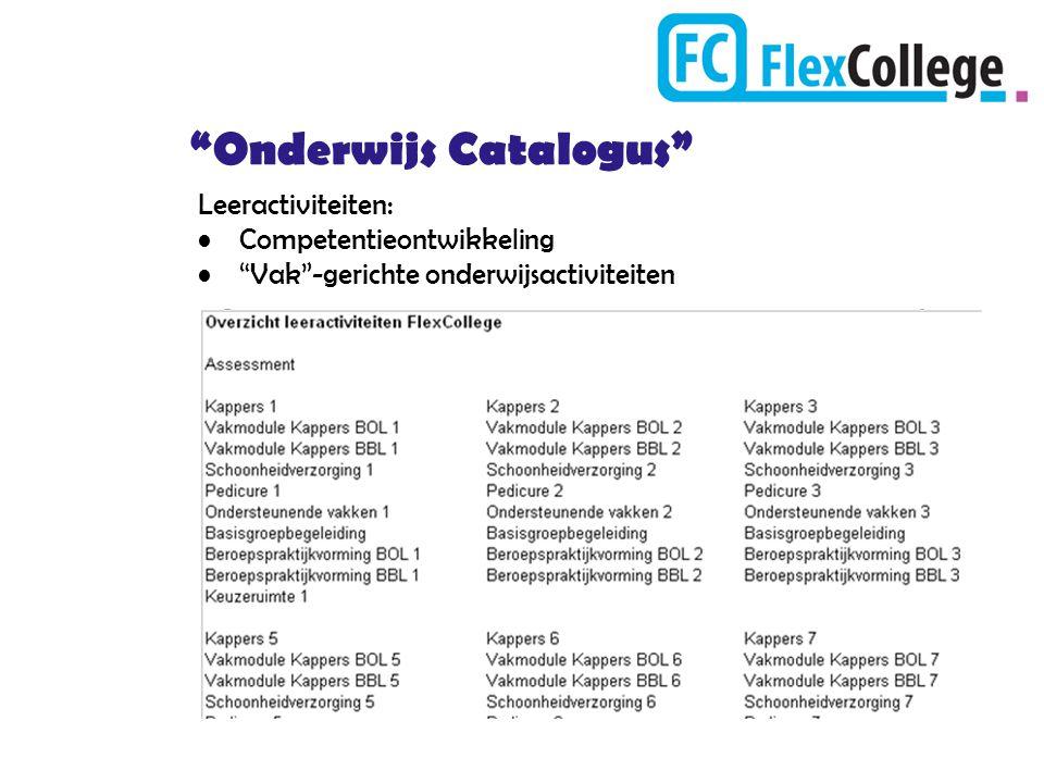 Onderwijs Catalogus