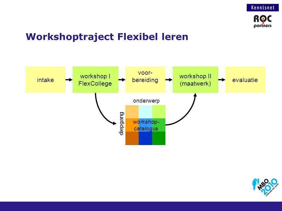 Workshoptraject Flexibel leren