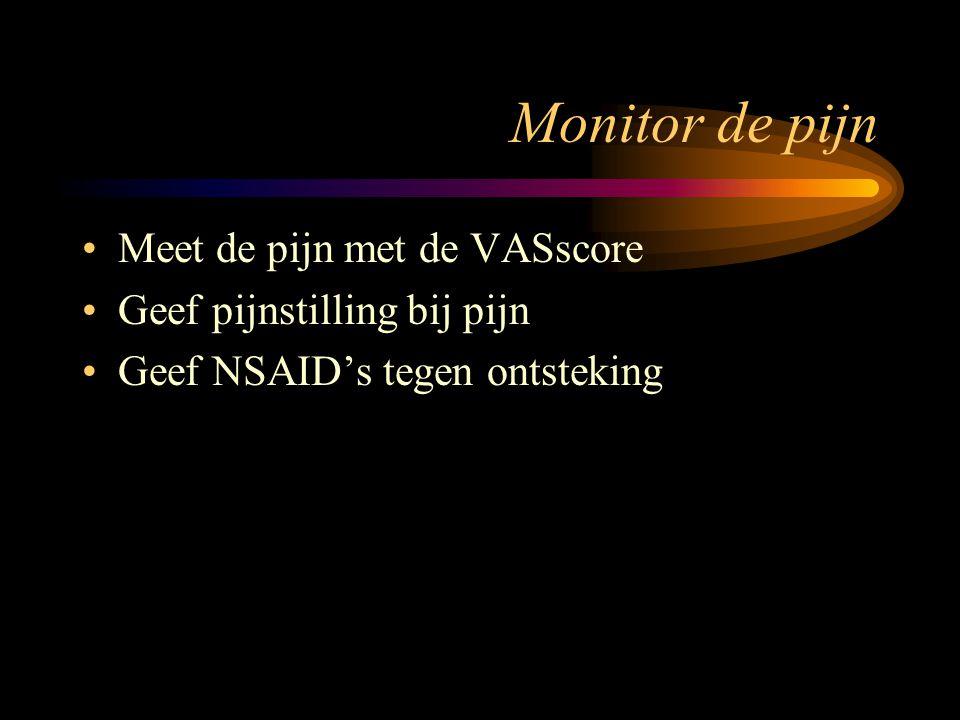 Monitor de pijn Meet de pijn met de VASscore