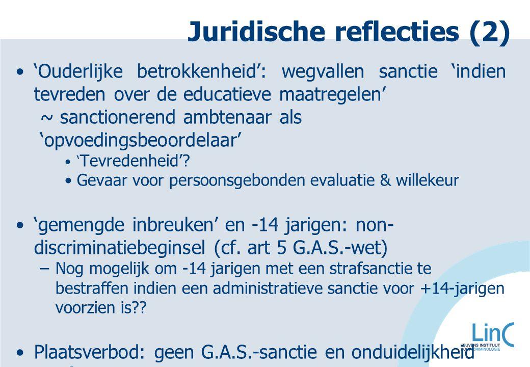 Juridische reflecties (2)