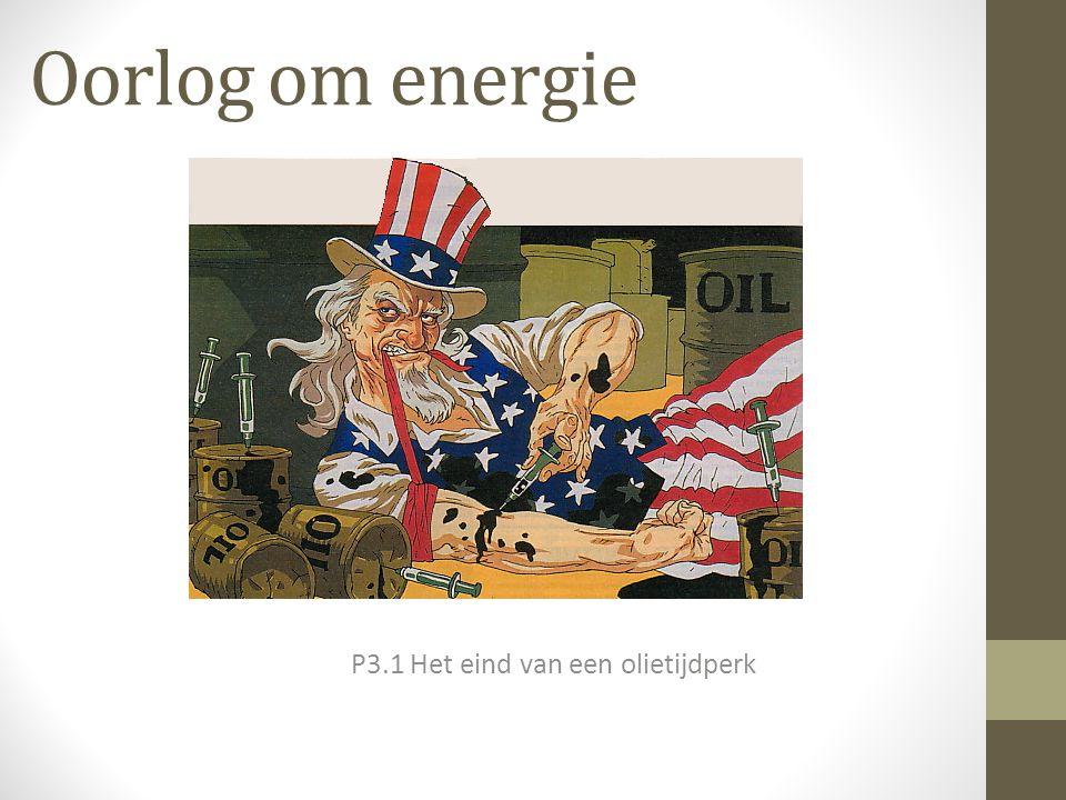 P3.1 Het eind van een olietijdperk