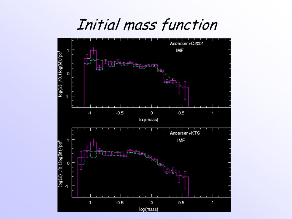 Initial mass function