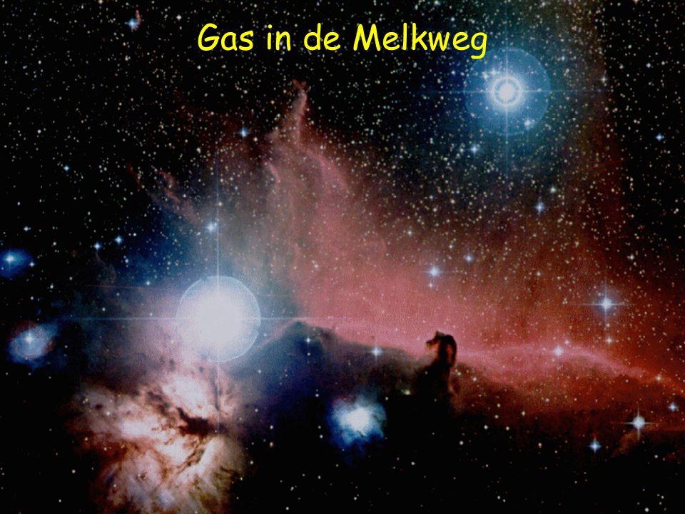 Gas in de Melkweg