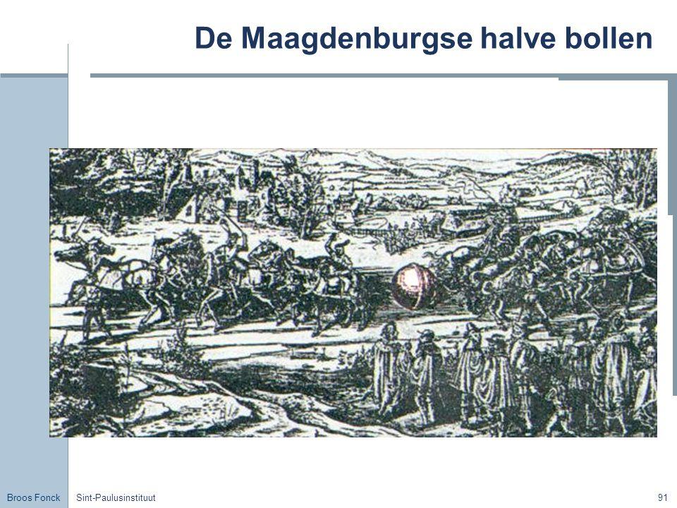 De Maagdenburgse halve bollen