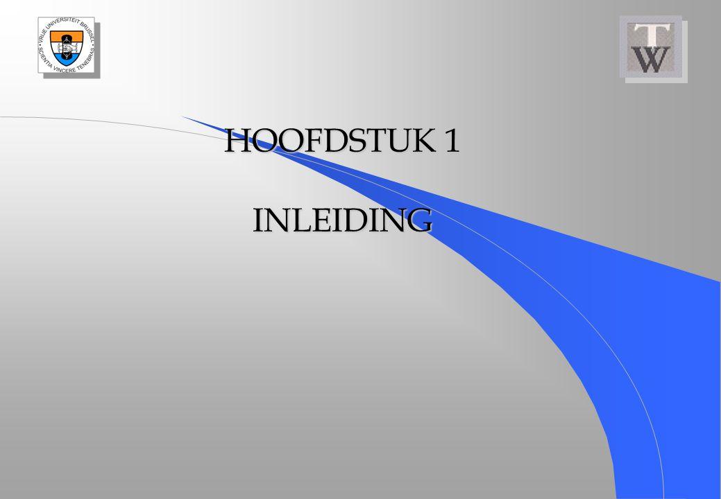 HOOFDSTUK 1 INLEIDING
