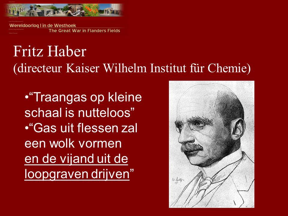 Fritz Haber (directeur Kaiser Wilhelm Institut für Chemie)