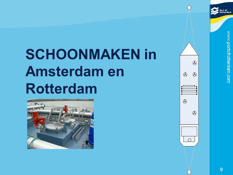 SCHOONMAKEN in Amsterdam en Rotterdam