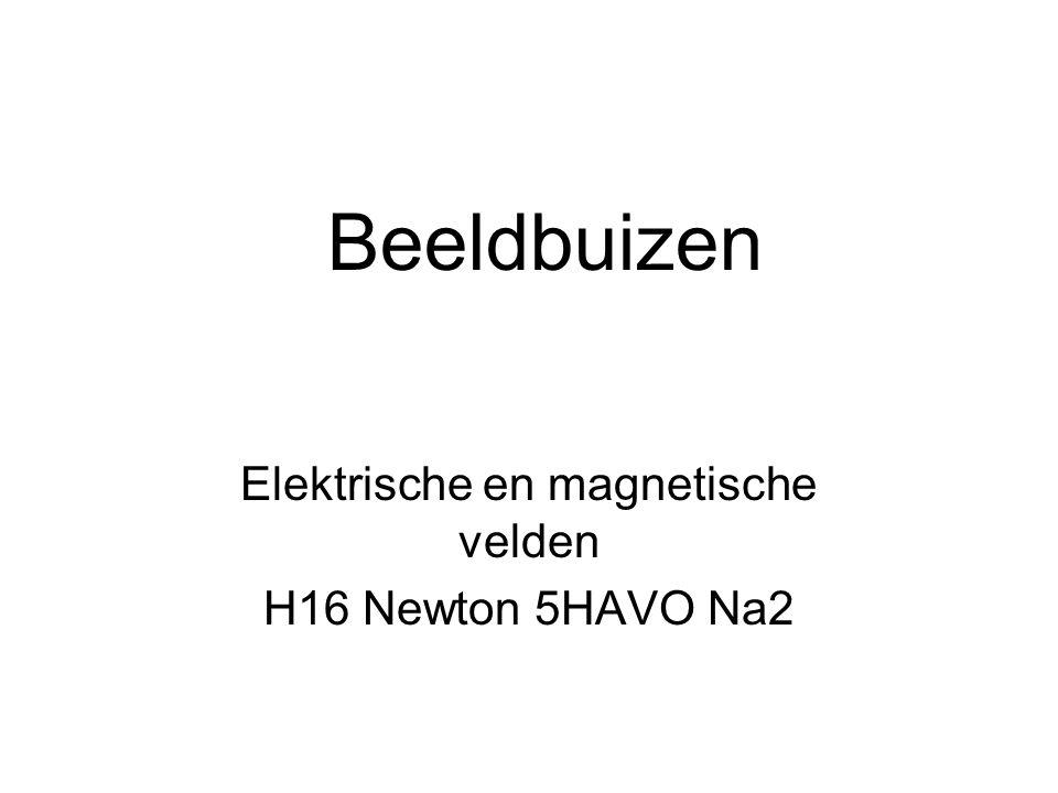 Elektrische en magnetische velden H16 Newton 5HAVO Na2