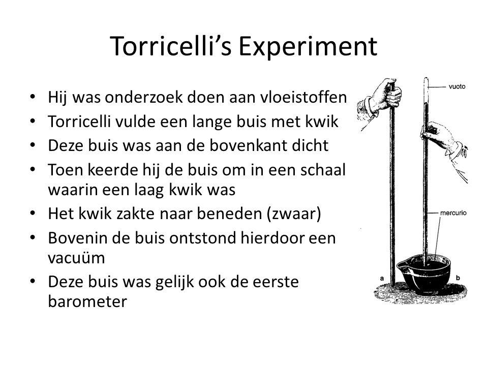 Torricelli's Experiment