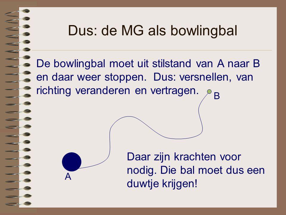 Dus: de MG als bowlingbal