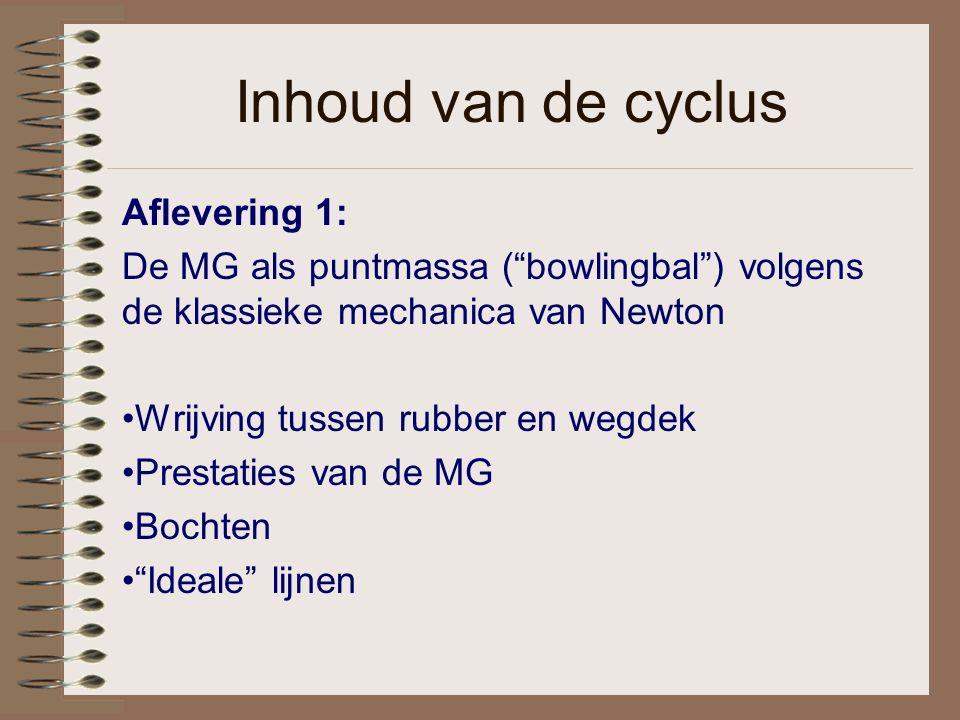 Inhoud van de cyclus Aflevering 1: