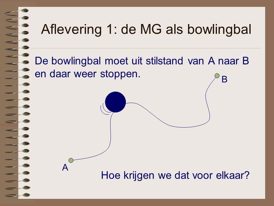 Aflevering 1: de MG als bowlingbal