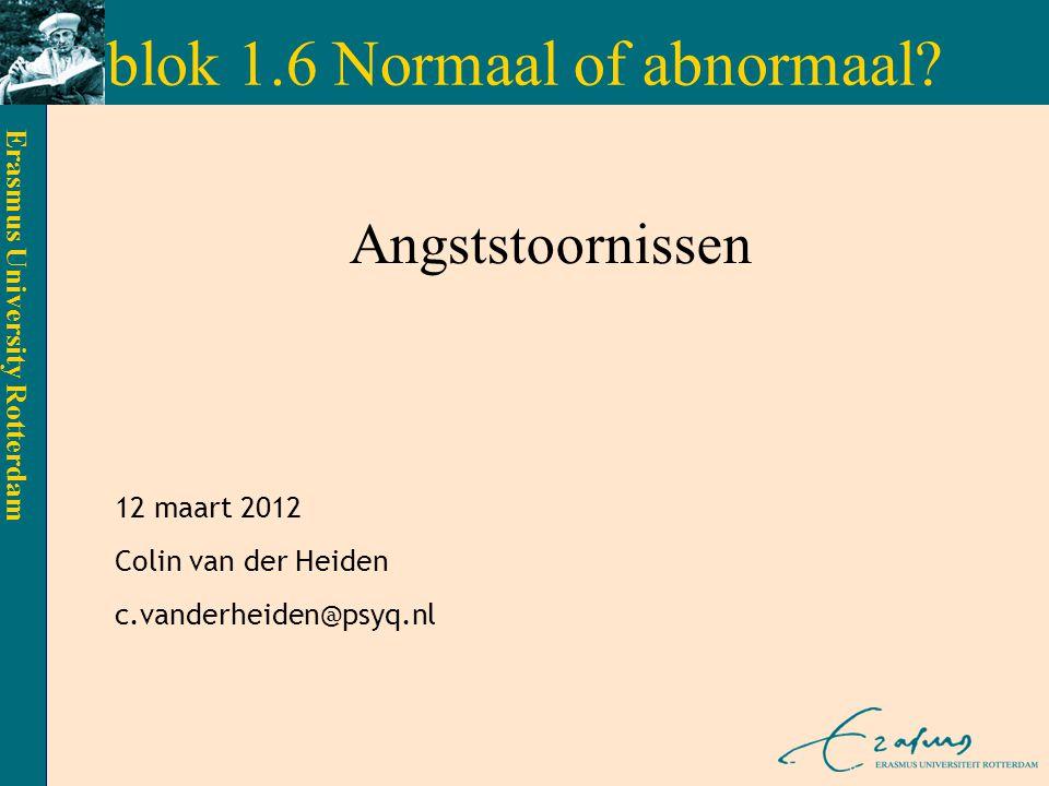 blok 1.6 Normaal of abnormaal