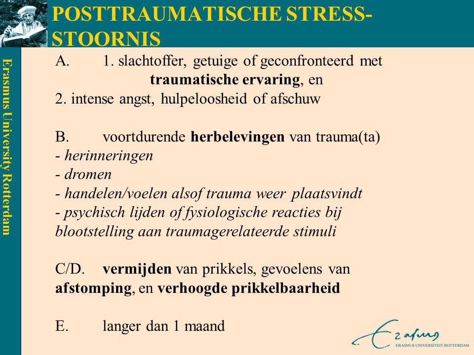 POSTTRAUMATISCHE STRESS-STOORNIS