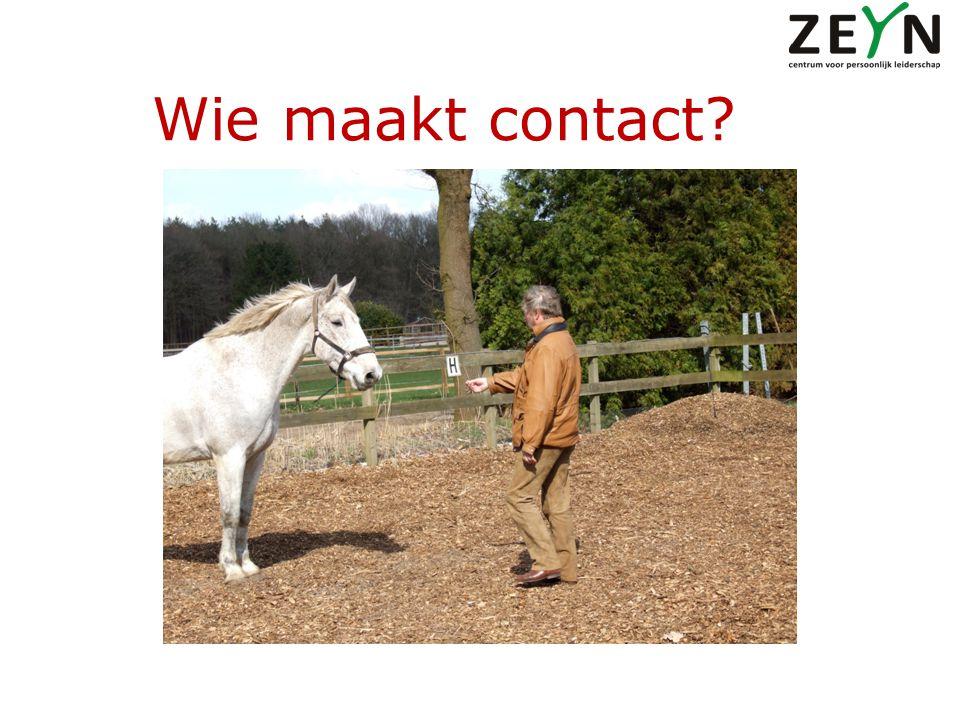 Wie maakt contact