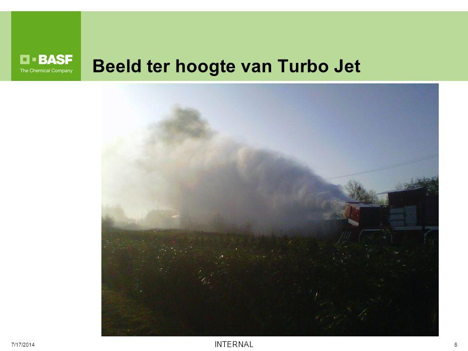 Beeld ter hoogte van Turbo Jet