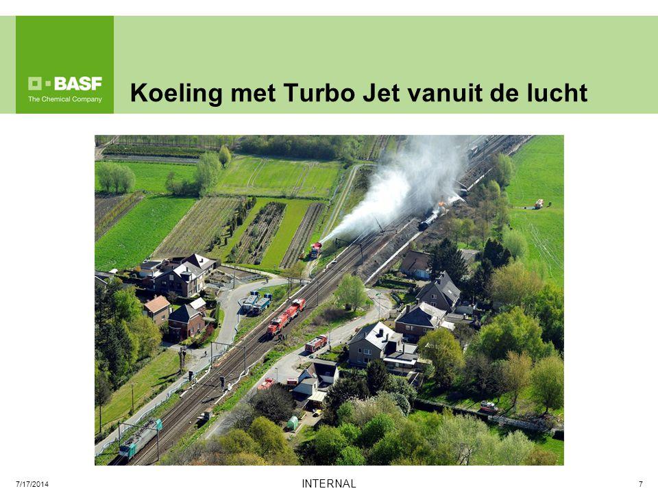 Koeling met Turbo Jet vanuit de lucht