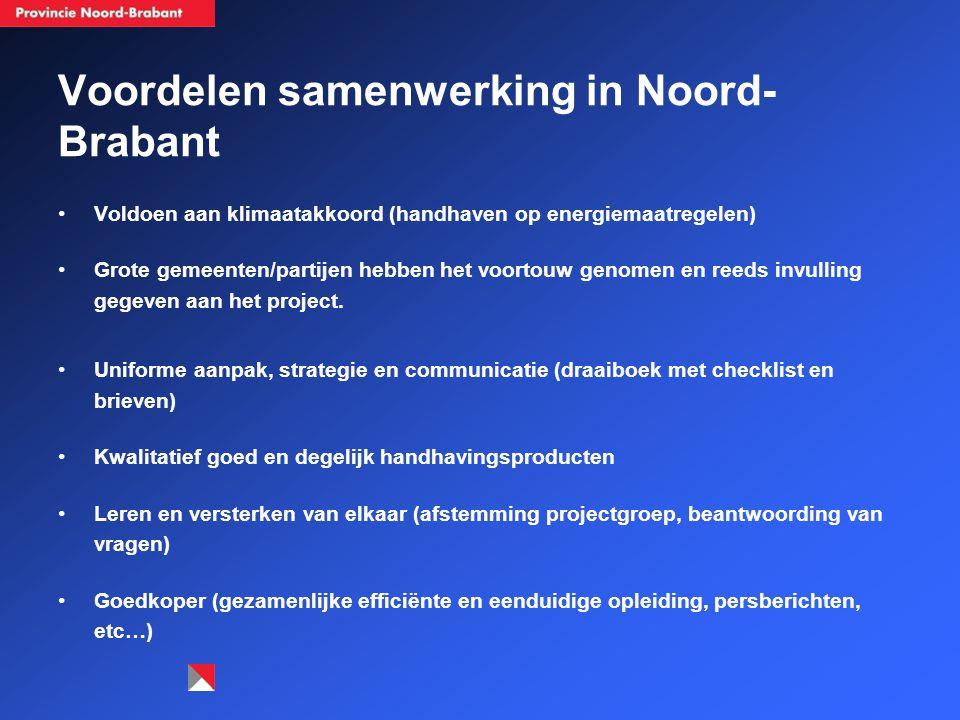 Voordelen samenwerking in Noord-Brabant