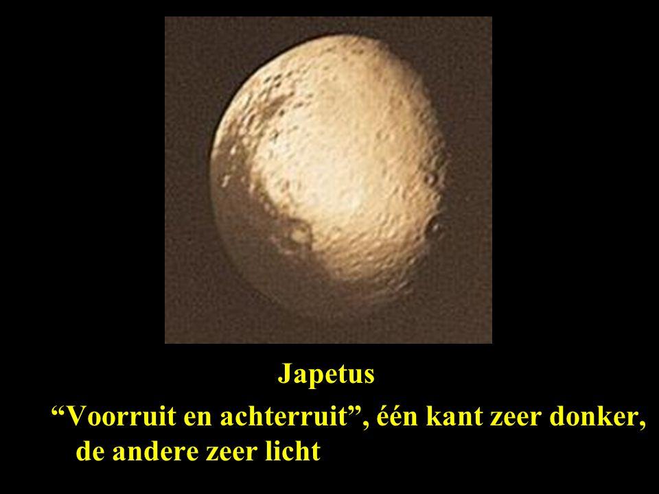 Saturnus manen Japetus