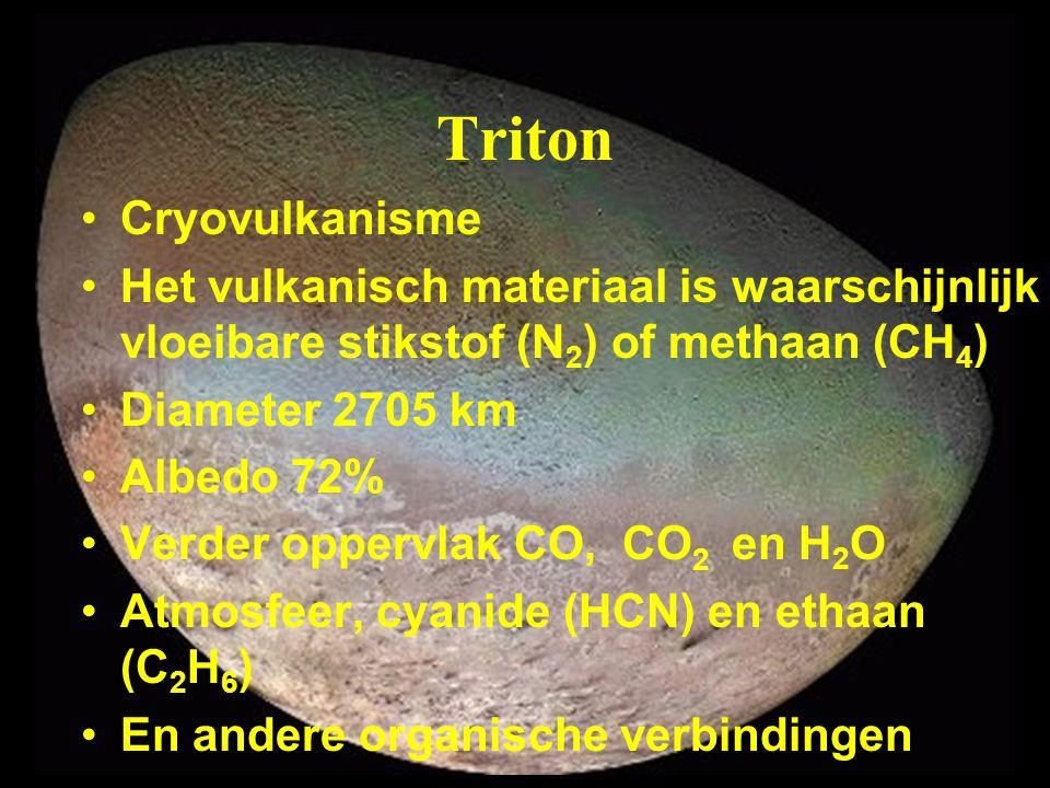 Triton Cryovulkanisme