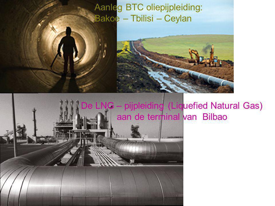 Aanleg BTC oliepijpleiding: Bakoe – Tbilisi – Ceylan