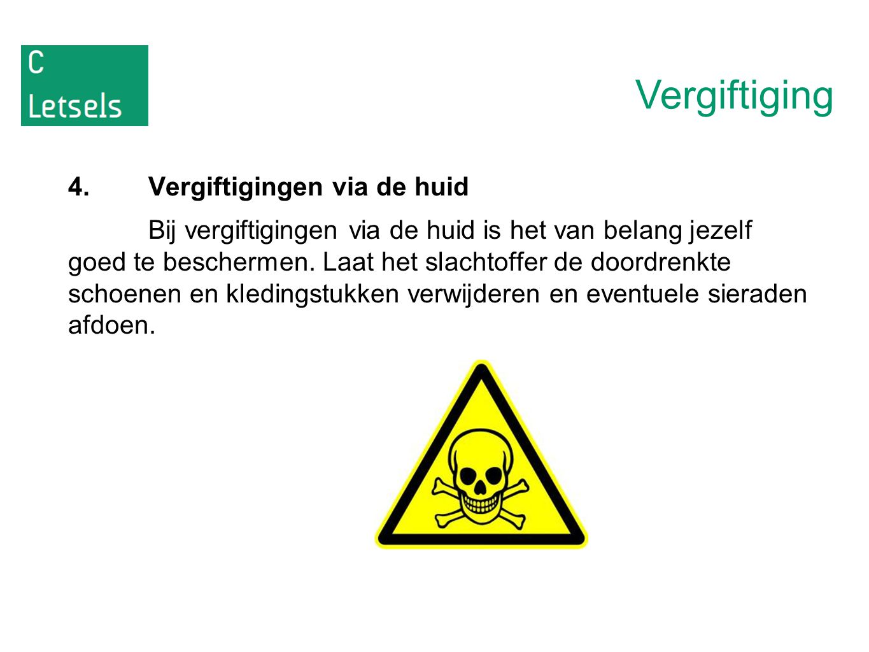 Vergiftiging 4. Vergiftigingen via de huid